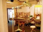 香港医学博物館に展示されていた古い手術台